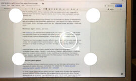 How to use Google's PhotoScan to scan images