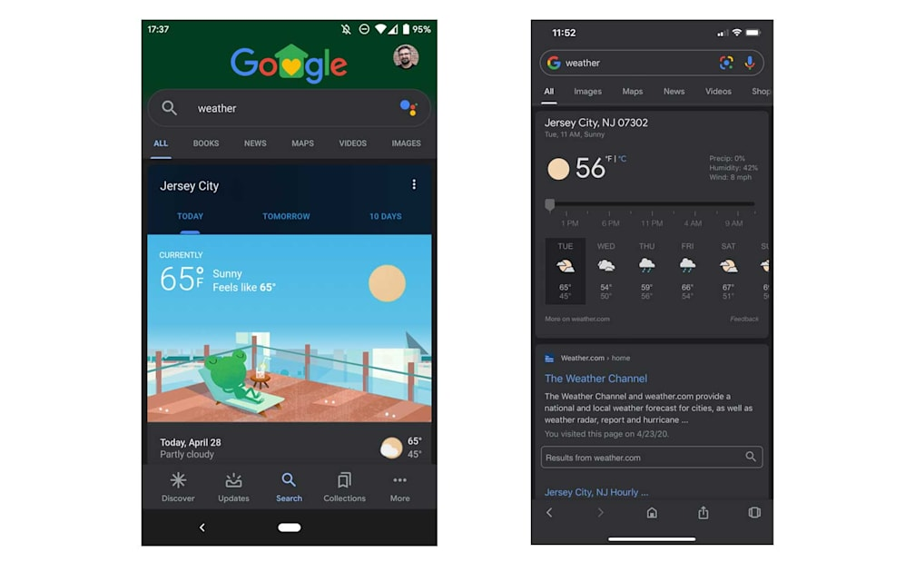 Read more about the article Google's Search app finally has a dark mode