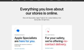 New Apple Web Page Directs Customers to Its Online Shopping Services
