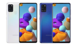 Galaxy A21s to follow on the heels of the last month's Galaxy A21