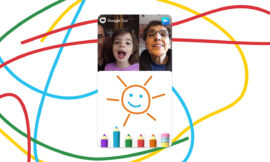 Google Duo gets new Family Mode with doodles and masks