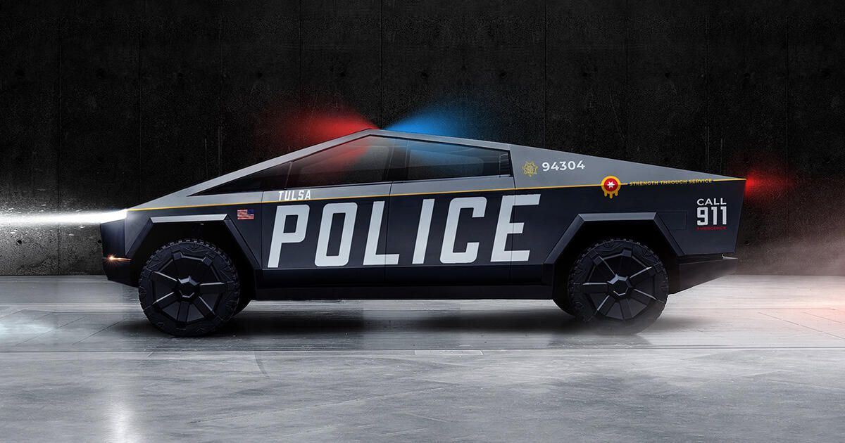Read more about the article Tulsa mayor wants Tesla Cybertruck police vehicles, if company builds plant