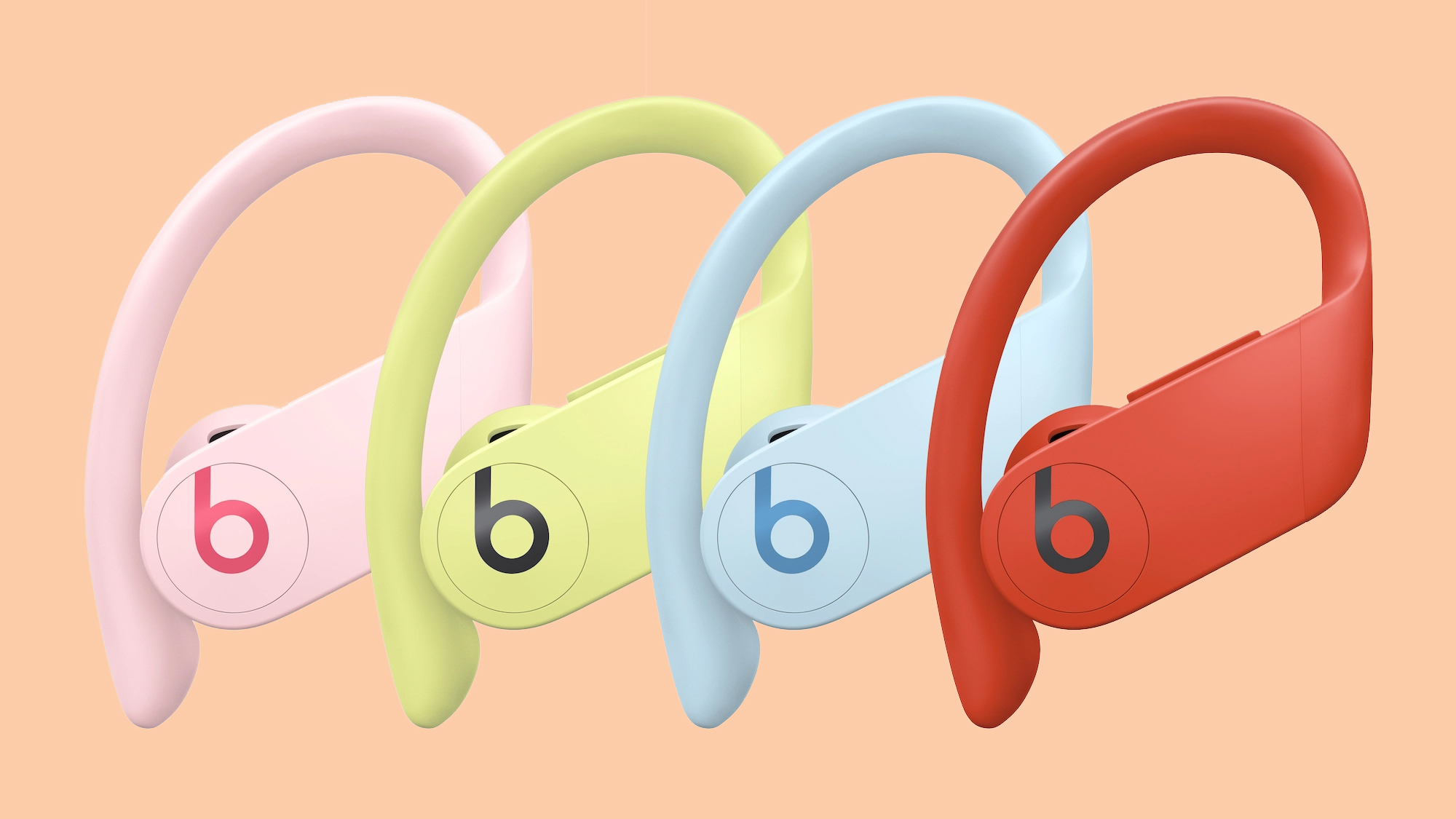 Powerbeats Pro Debut in Four New Colors: Spring Yellow, Cloud Pink, Lava Red, and Glacier Blue