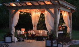 Deck out your backyard with huge discounts on outdoor furniture from Wayfair, Overstock and more