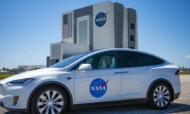 Crew Dragon astronauts will ride to the launch pad in a Tesla Model X