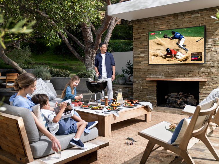 Samsung's The Terrace costs $3,500. But do we even need outdoor TVs?