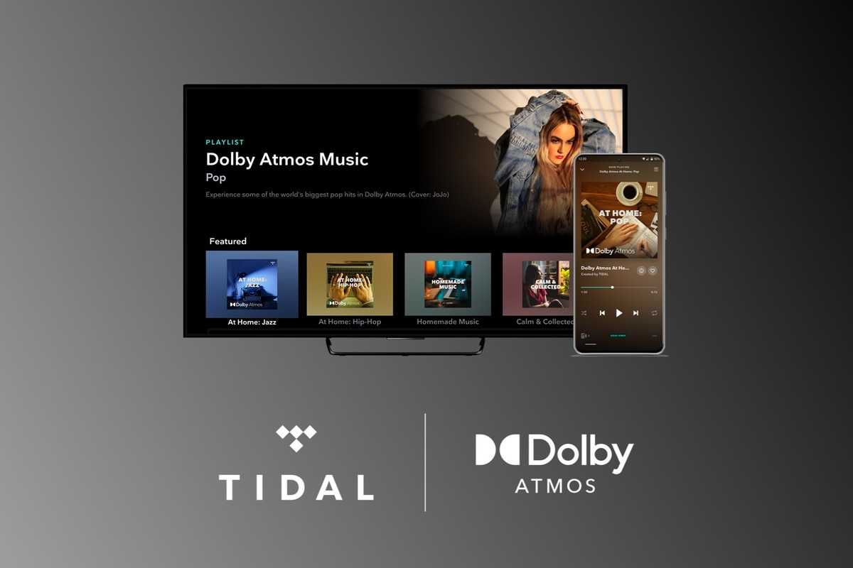 Tidal adds Dolby Atmos Music support to its HiFi service tier