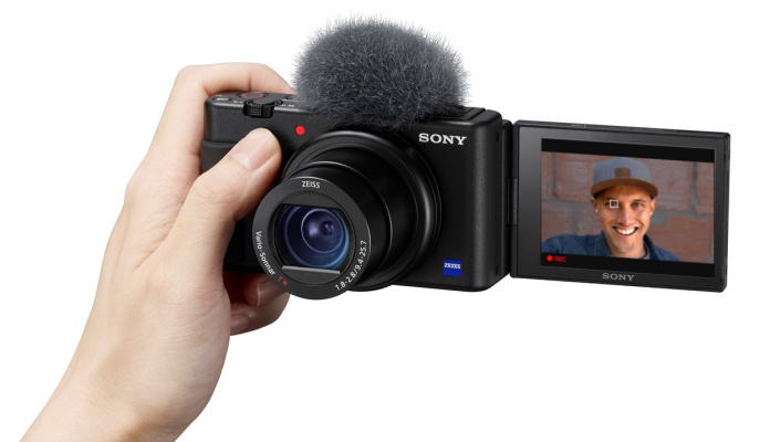Sony's ZV-1 compact camera zooms in on vloggers – TechCrunch