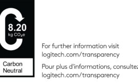 Logitech to display carbon impact labels on product packaging and online