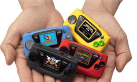 Sega releasing a tiny Game Gear Micro for its 60th anniversary