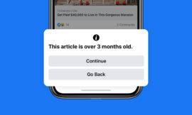 Facebook will let you know if you are about to share outdated news