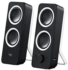 Logitech Multimedia Speakers Z200 with Stereo Sound for Multiple Devices – Black