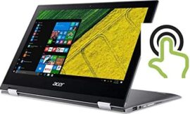 Acer High Performance Spin 11.6in FHD IPS Multi-Touch Laptop, IntelPentium N4200 Quad-core Up to 2.5GHz, 4GB RAM, 64GB SSD, WiFi, Bluetooth, HDMI, Win10(Renewed)
