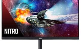 Acer Nitro XF272 Xbmiiprzx 27″ Full HD (1920 x 1080) TN Gaming Monitor with AMD Radeon FreeSync Technology, 240Hz, Up to 0.2ms Response Time, HDR Ready (1 x DP, 2 x HDMI & & 4 x 3.0 Ports), Black