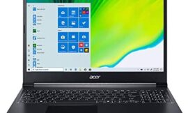 Acer Aspire 7 Laptop, 15.6″ Full HD IPS Display, 9th Gen Intel Core i5-9300H, NVIDIA GeForce GTX 1650, 8GB DDR4, 512GB NVMe SSD, Backlit Keyboard, Windows 10 Home, A715-75G-544V