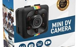 Hidden Spy Camera | SD Card Included | Mini Portable Wireless Security Dashcam Motion Detection Indoor & Outdoor Surveillance – Home Office – Car Video Recorder 1080p Night Vision – Small Drone