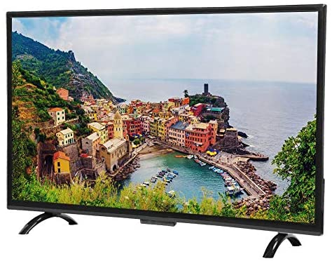 EBTOOLS 32inch 4K Curved Display TV, 3000R Curvature Android Smart TV HDR Network Version(US-Plug)