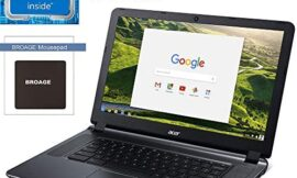 2020 Acer CB3 Chromebook 15.6″ ComfyView Laptop Computer for Business Student, Intel Celeron N3060 up to 2.48GHz, 2GB RAM, 16GB eMMC, 802.11ac WiFi, HDMI, USB 3.0, Black, Chrome OS, BROAGE Mouse Pad