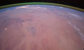 Astronomers Detect Eerie Green Glow on Mars for the First Time