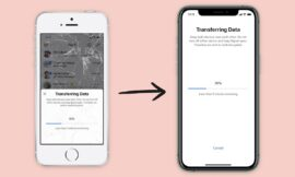 Signal allows conversation and profile migration between iOS devices