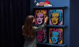 Lego's new line of buildable posters includes Darth Vader, Iron Man, and Marilyn Monroe