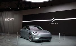Sony's 'Vision-S' concept EV will hit public roads this year