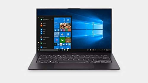 "Acer Swift 7 Thin & Lightweight Laptop 14"" FHD IPS Touch Display in a Thin .10″ Bezel, 8th Gen Intel Core i7-8500Y, 16GB LPDDR3, 512GB PCIe NVMe SSD, Back-lit Keyboard, Windows 10 (Black)"