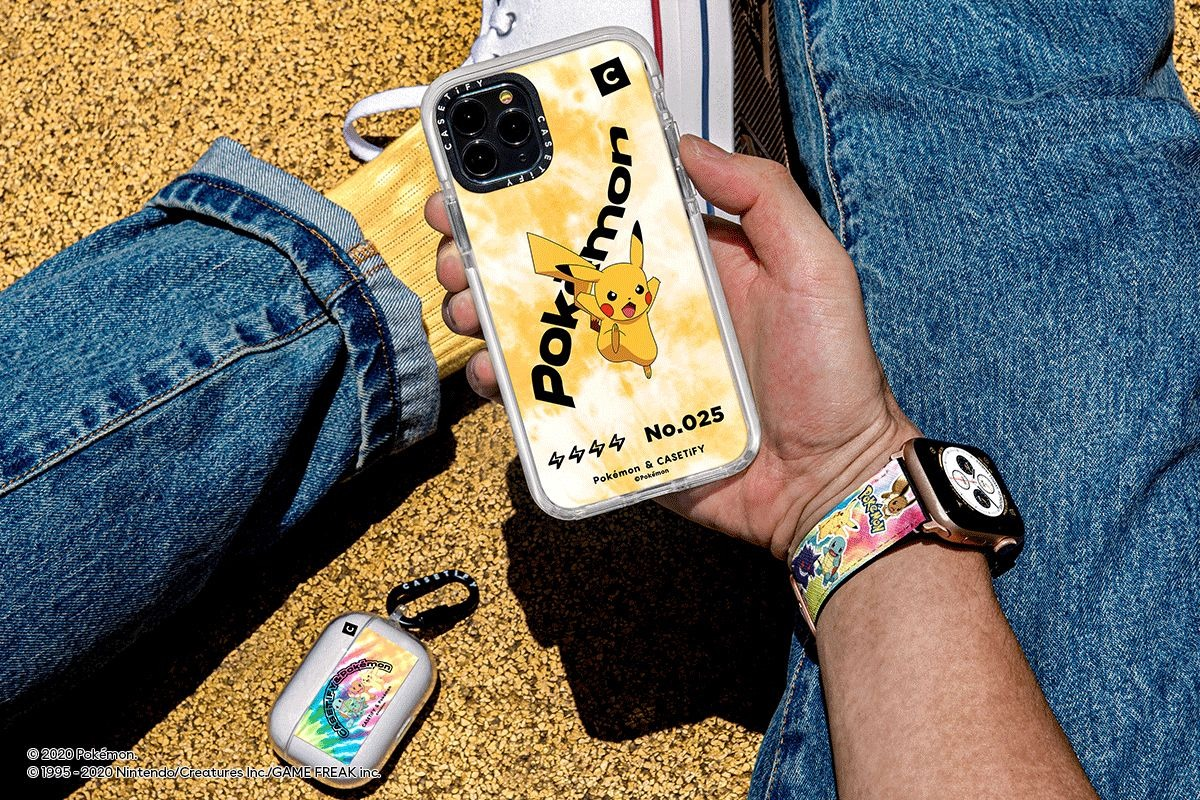Casetify debuts line of Pokemon iPhone, Apple Watch bands & AirPods cases