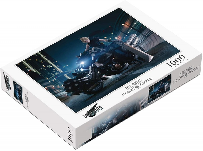 You Can Now Pre-Order Final Fantasy VII Remake Jigsaw Puzzles