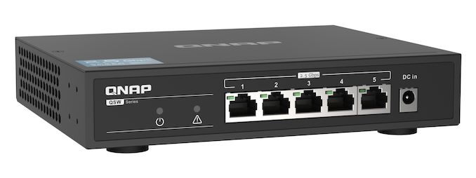 QNAP Releases QSW-1105-5T 5-Port Switch