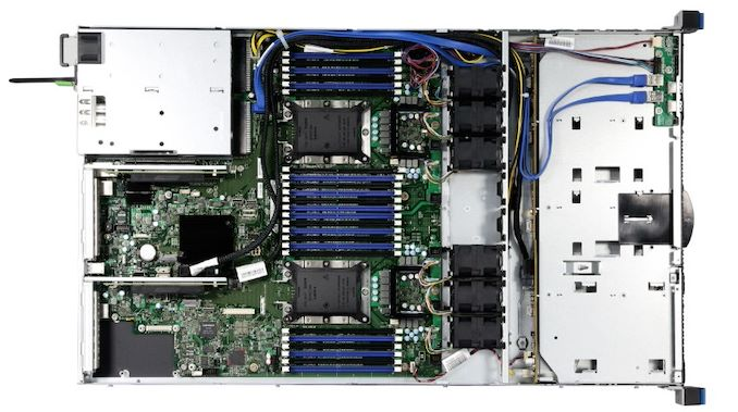 Chenbro Announces RB13804, a Dual Socket 1U Xeon 4-Bay HPC Barebones Server