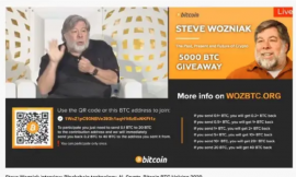 """Woz sues YouTube over """"bitcoin giveaway"""" scam videos using his name"""