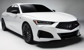 2021 Acura TLX and TLX Type S makes racing debut at Pikes Peak