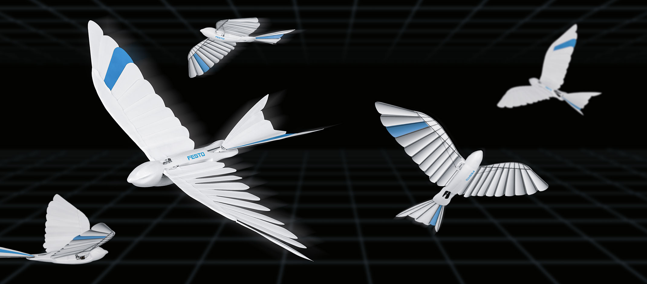 Festo's latest biomimetic robots are a flying feathered bird and ball-bottomed helper arm – TechCrunch