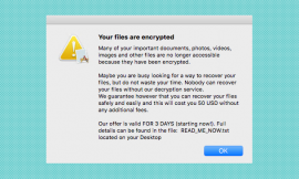Free decryptor available for ThiefQuest ransomware victims