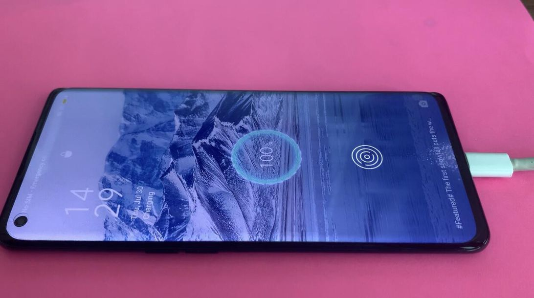 Oppo Reno 4 Pro hands on: A fast screen with fast charging
