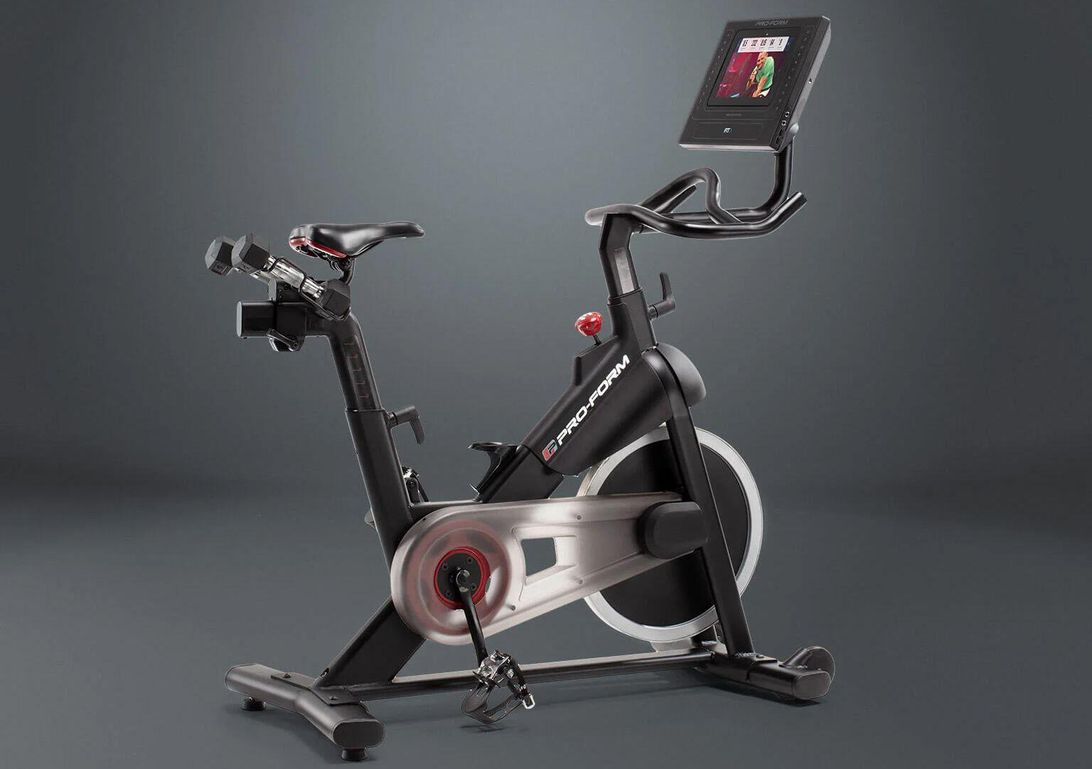 Free Peloton-style indoor studio bike with your monthly iFit membership