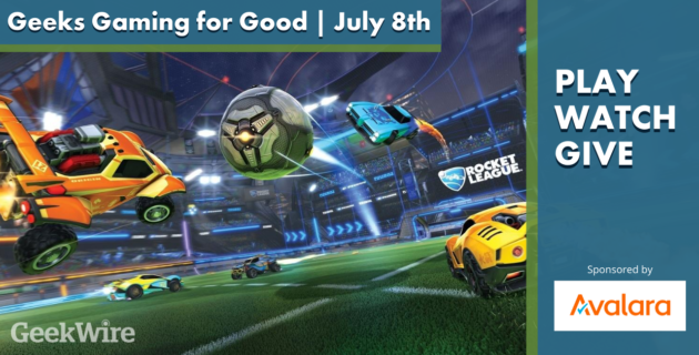 Geeks Gaming for Good: Watch our first-ever Rocket League tournament