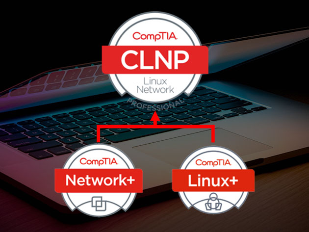 Train from home and earn your CompTIA Linux+ & Network+ certs for $30