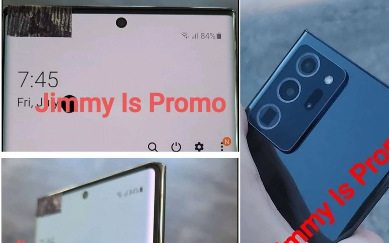 Galaxy Note 20 in-hand images show early key details [UPDATE: Video]