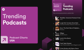 Spotify rolls out podcast charts to make it easier to find new shows
