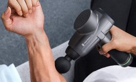 Get muscle relief with this TaoTronics massage gun for $95