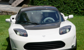 The last Tesla Roadster ever built goes up for sale with an enormous price tag