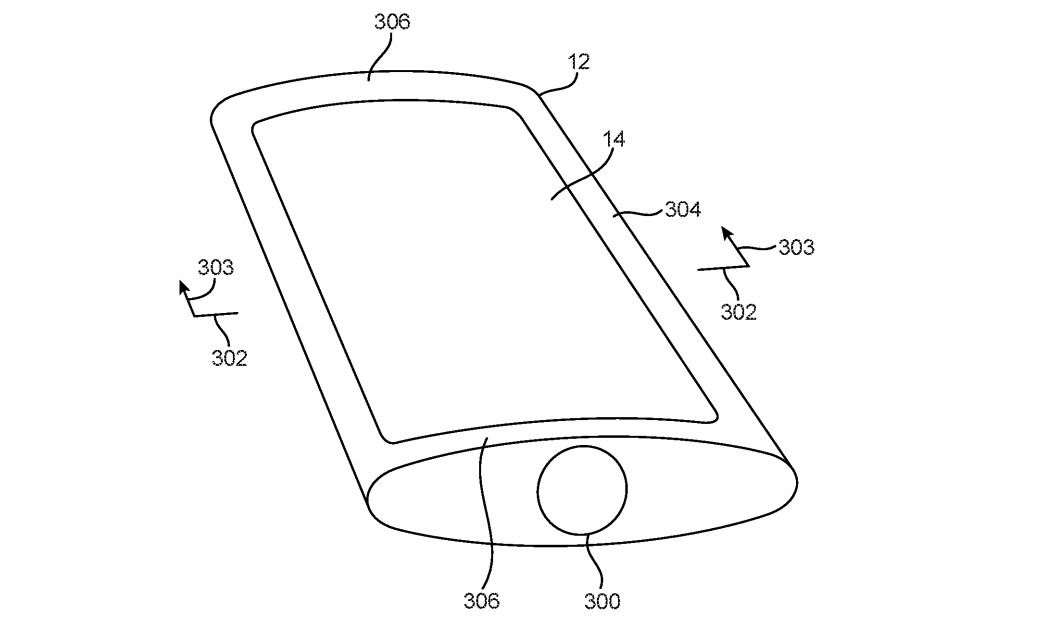 Apple researching curved iPhone body with wrap-around displays