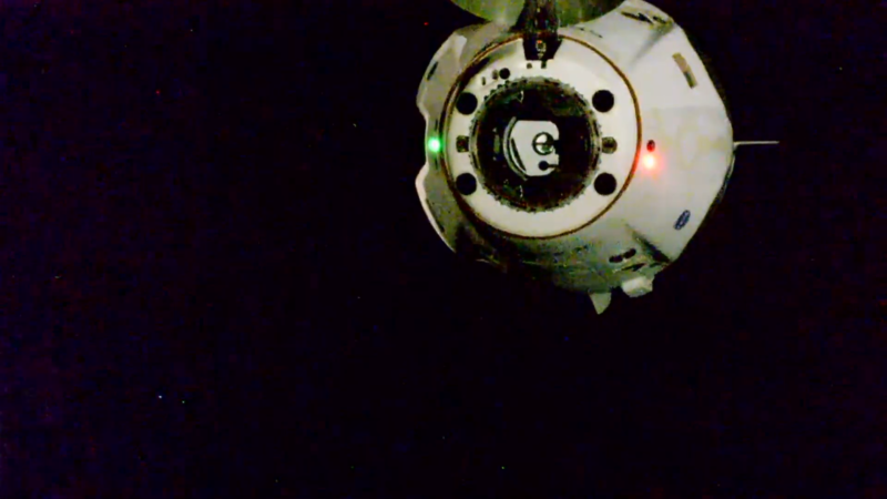 Dragonship Endeavour is flying free, on its way back to Earth