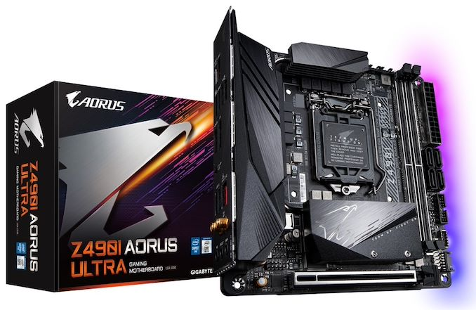 GIGABYTE's Z490I Aorus Ultra and MSI's MEG Z490I Unify Reviewed