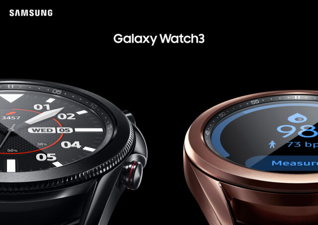 Samsung's Galaxy Watch 3 is a stylish redesign without much new to say