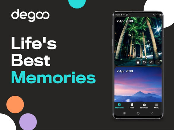 Back Up All Your Devices With Degoo Premium's 10TB Lifetime Plan