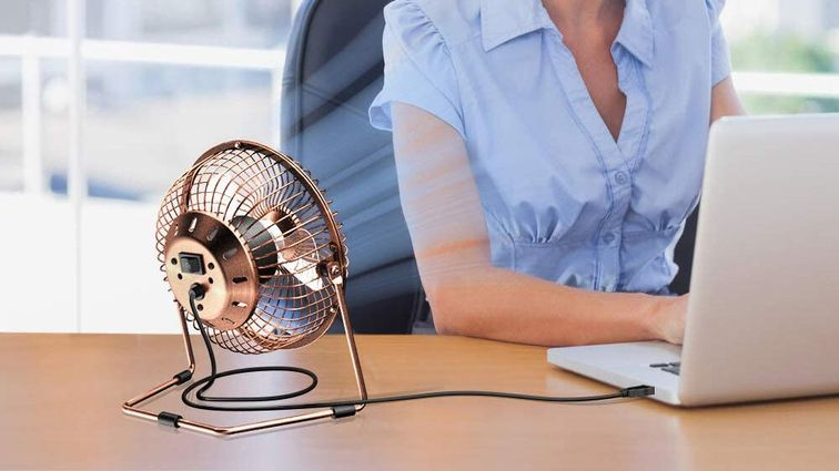 Beat the heat: Four personal fans for $8 or less