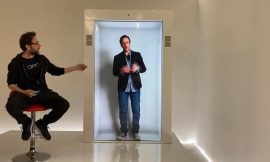 Own your own hologram device with the PORTL hologram machine